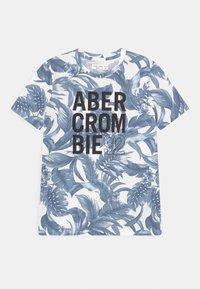 Abercrombie & Fitch - Print T-shirt - dark blue - 0