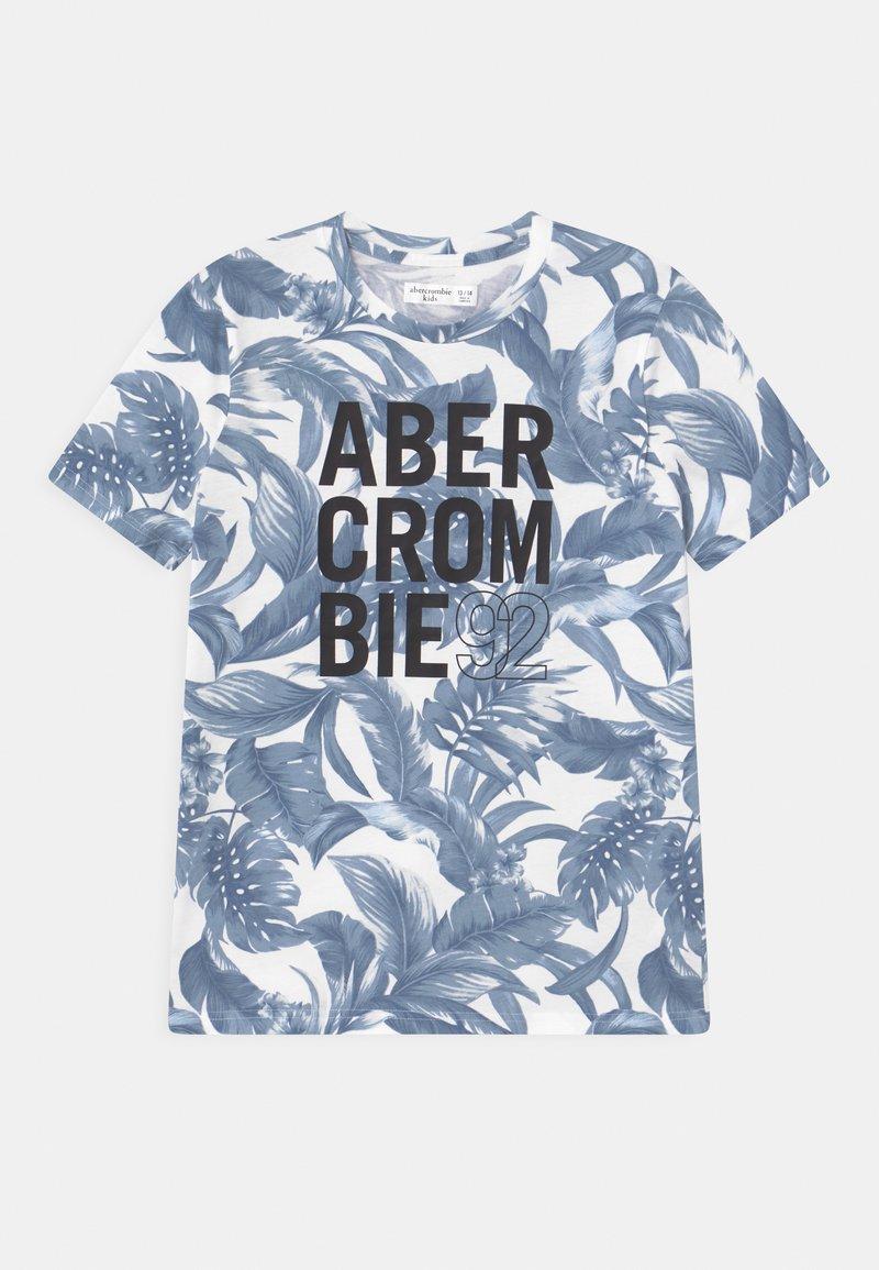 Abercrombie & Fitch - Print T-shirt - dark blue