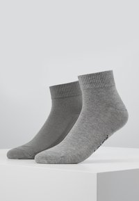 Levi's® - MID CUT 2 PACK - Socks - middle grey melange - 0