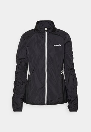 WINDBREAKER JACKET - Hardloopjack - black
