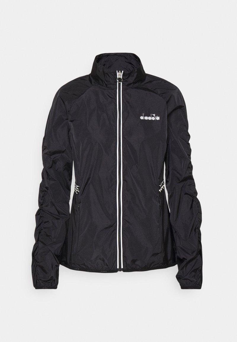 Diadora - WINDBREAKER JACKET - Sports jacket - black