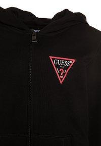 Guess - CORE  - Bluza rozpinana - jet black - 3