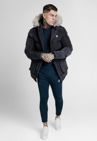 SIKSILK - STOP PUFF - Cappotto invernale - navy - 0