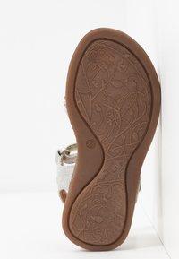 Froddo - LORE SPARKLE MEDIUM FIT - Sandals - silver - 5