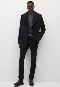 Mango - TINOF - Classic coat - navy blue - 1