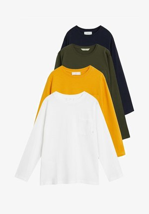 4 PACK BASIC7PK-I - Longsleeve - off white