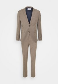 Selected Homme - SLHSLIM MYLOBILL STRUCTURE SUITE - Traje - sand - 11