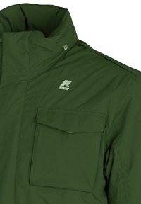 K-Way - MARMOTTA - Outdoor jacket - green dk forest-blue depht