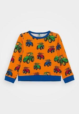 MED TRAKTOR - Sweatshirt - orange