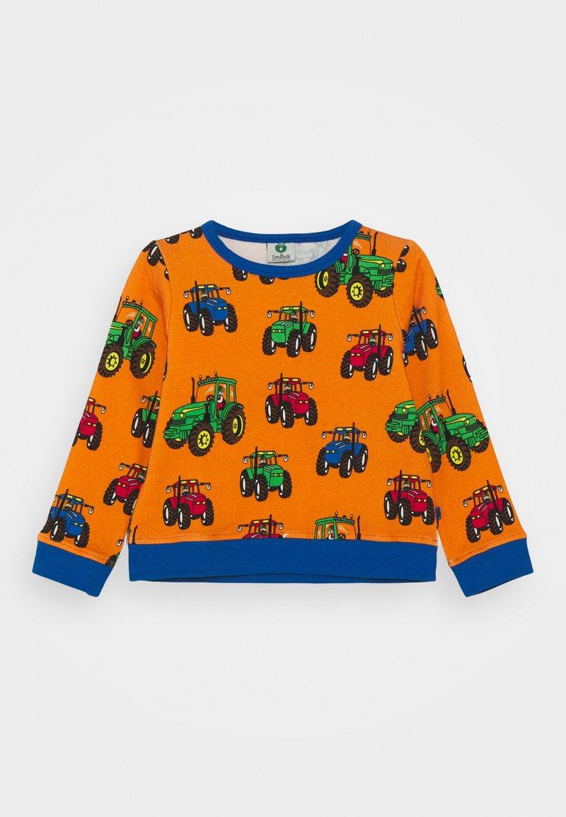 Småfolk - MED TRAKTOR - Sweatshirt - orange