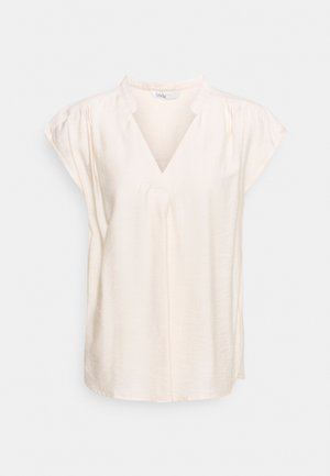 ONLJOSEY V-NECK  - Top - ecru