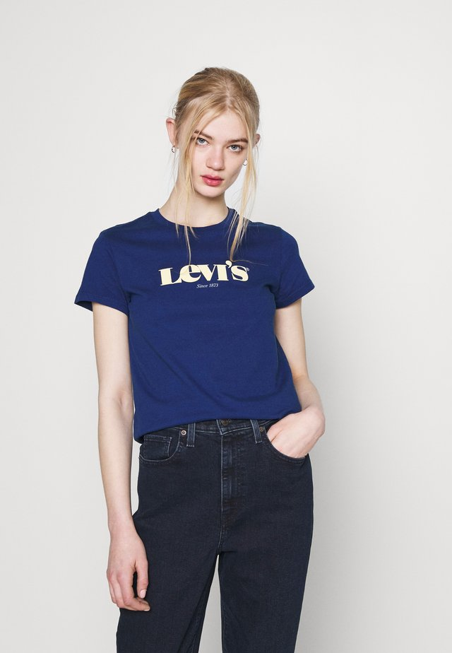 THE PERFECT TEE - Print T-shirt - estate blue