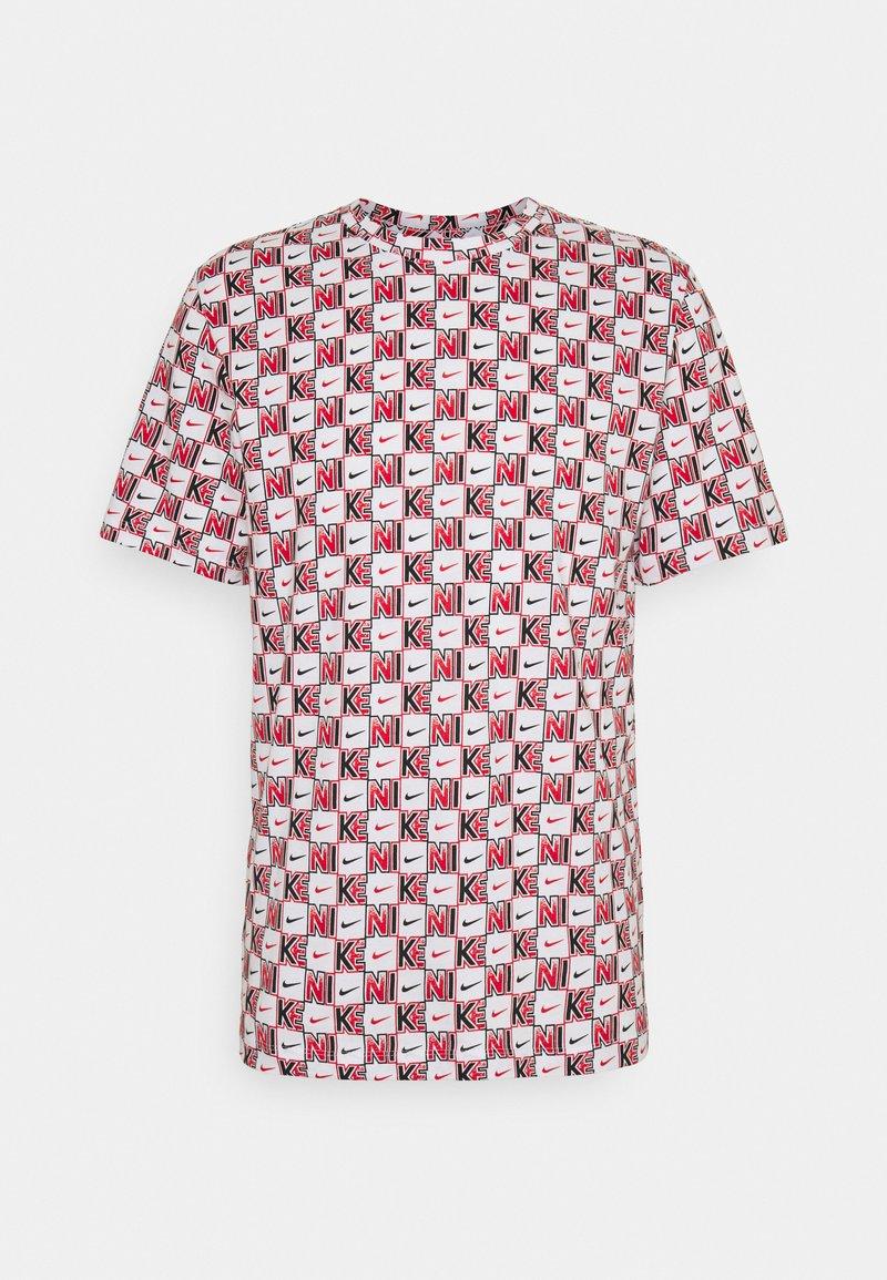 Nike Sportswear - TEE HIGHER - T-shirt con stampa - white