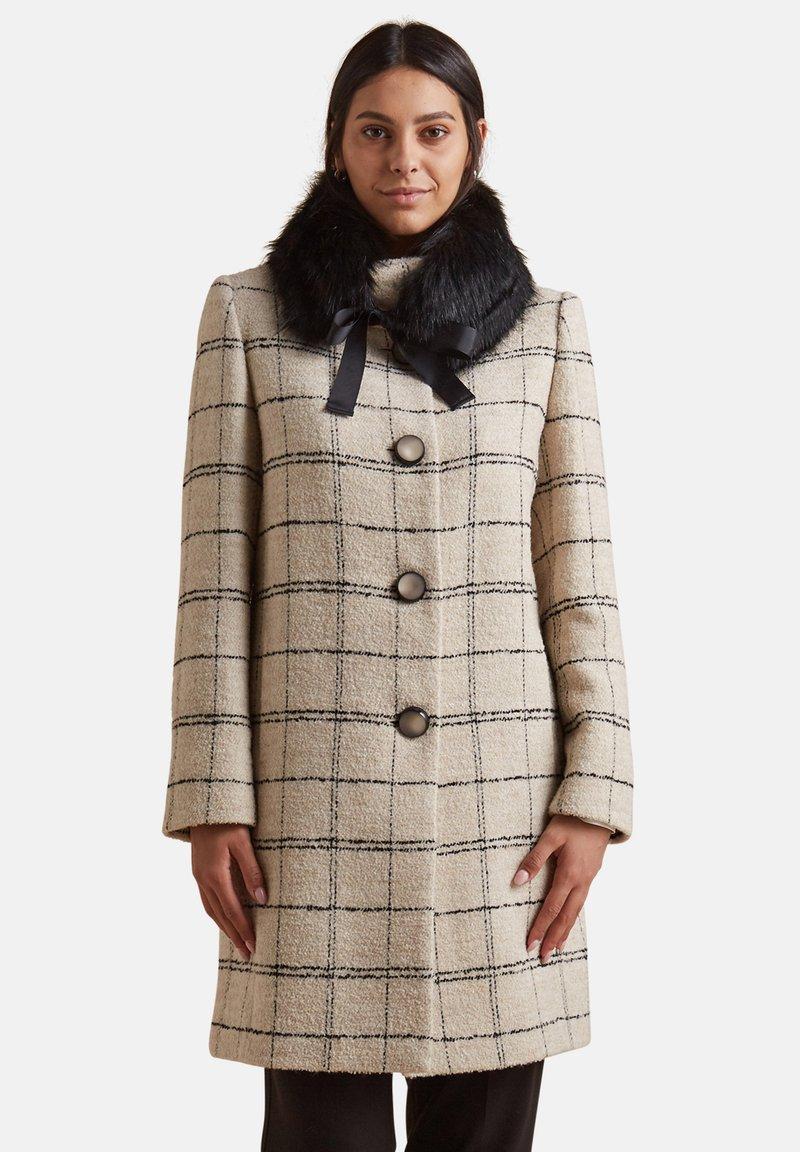 Elena Mirò - CON COLLETTO STACCABILE - Classic coat - beige