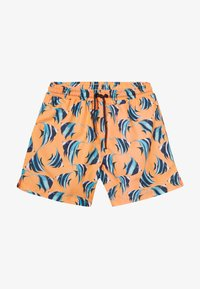 Sunuva - BOYS FISH SWIM - Szorty kąpielowe - neon orange - 3