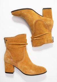 Be Natural - Classic ankle boots - saffron - 3