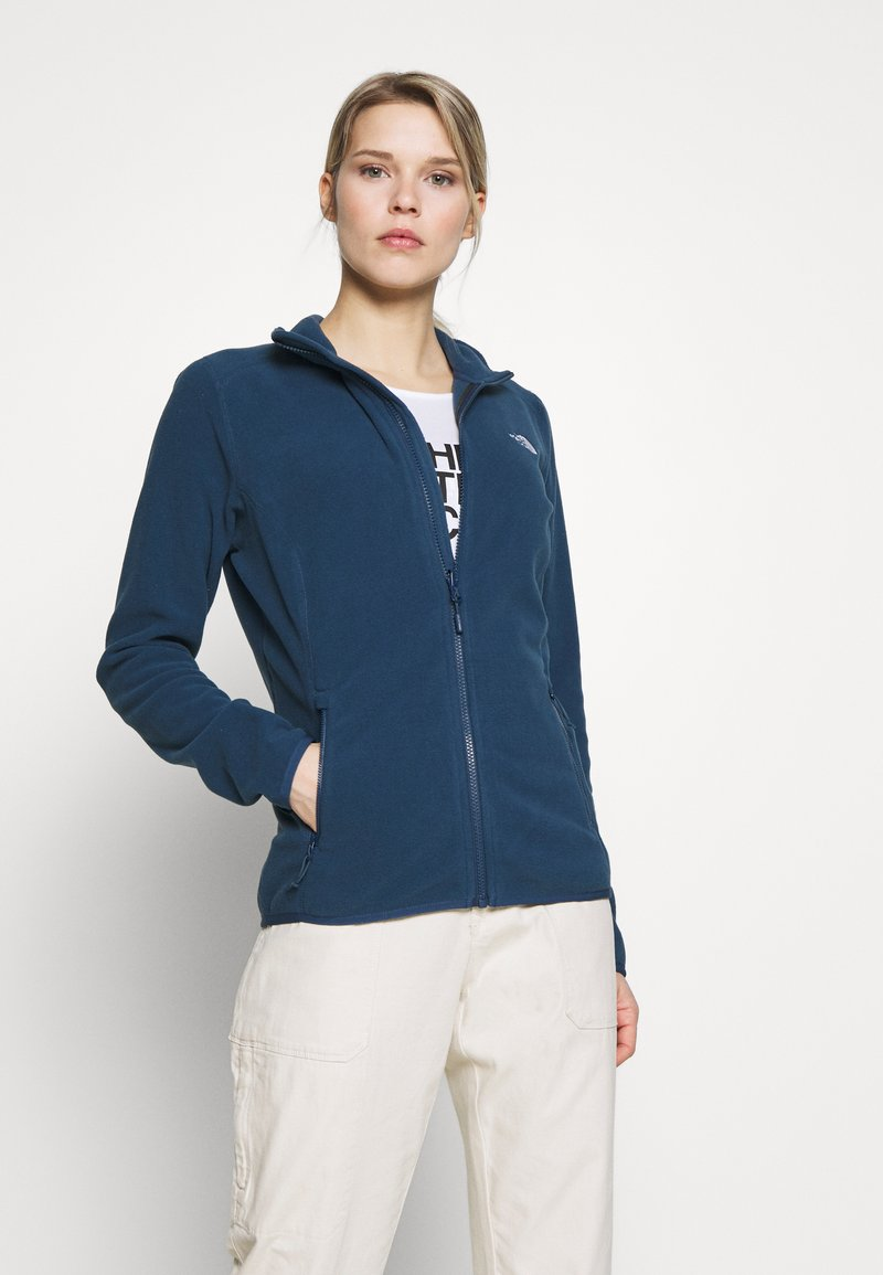 The North Face - WOMENS GLACIER FULL ZIP - Fleece jacket - blue wing teal