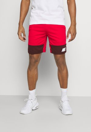 DRY SHORT - Urheilushortsit - university red/mystic dates/white