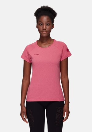 AEGILITY - Print T-shirt - sundown melange