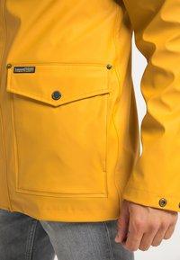 Schmuddelwedda - Waterproof jacket - curry - 3