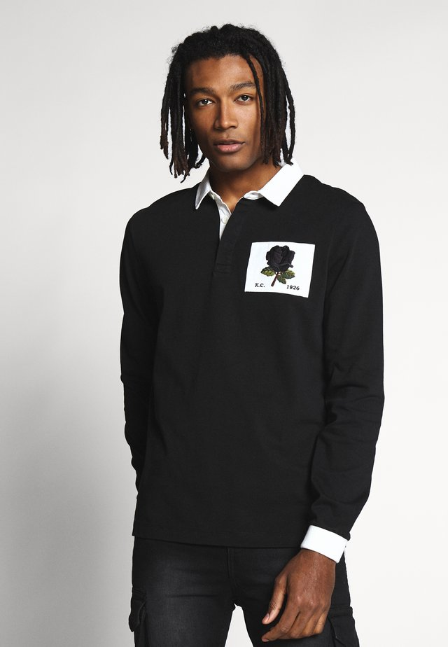 STOKES ROSE ICON - Polo shirt - black