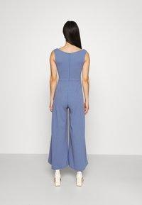 WAL G. - ADELINA WIDE LEG - Jumpsuit - powder blue - 2