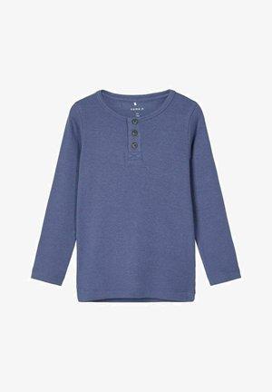 EXTRA SLIM FIT - Long sleeved top - vintage indigo