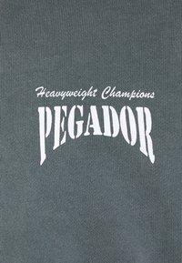 Pegador - EVANDER HOODIE UNISEX - Mikina skapucí - vintage grey - 8