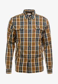 JACKSON WORKER - Shirt - archer sepia