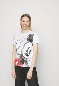 Desigual - MICKEY - T-shirt imprimé - white - 0