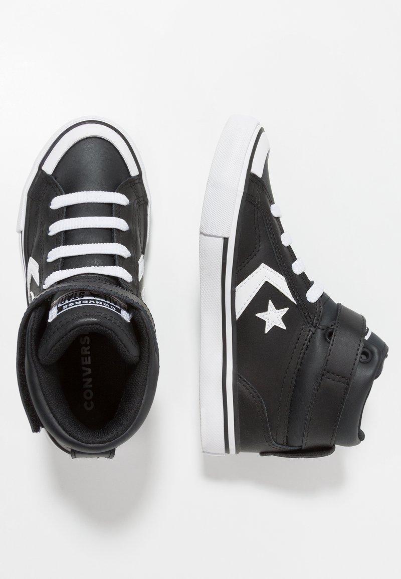 Converse - PRO BLAZE STRAP - High-top trainers - black/white