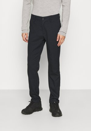 ONSMARK PANTS CHECK - Tygbyxor - dark blue