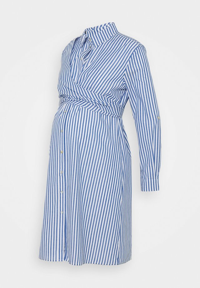 ARIADNE - Shirt dress - blue