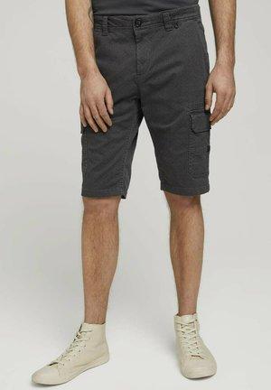 JOSH - Shorts - grey black minimal design