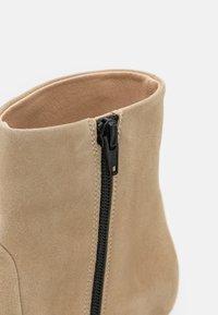Furla - CODE BOOT  - Classic ankle boots - juta - 6