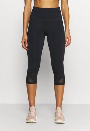 DANAH CAPRI - Leggings - noir