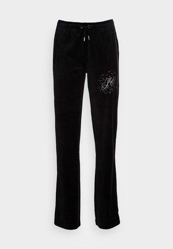 TINA SCATTER TRACK PANTS - Joggebukse - black