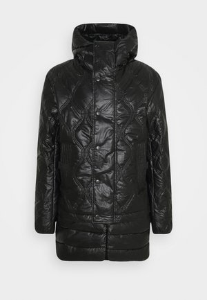 CRAWFORD SHINY GIACCA - Winter coat - black