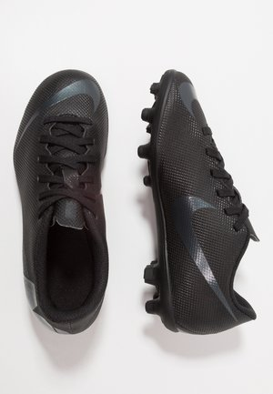 MERCURIAL VAPOR 12 CLUB MG - Moulded stud football boots - black/anthracite