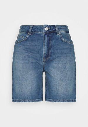 SLFSILLA - Shorts vaqueros - medium blue denim