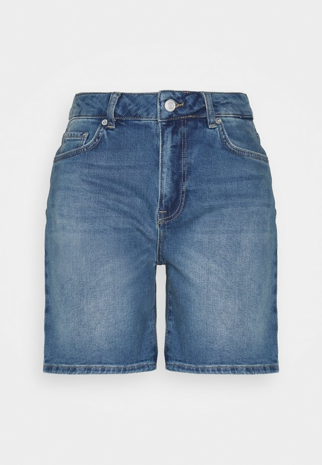 SLFSILLA - Shorts di jeans - medium blue denim