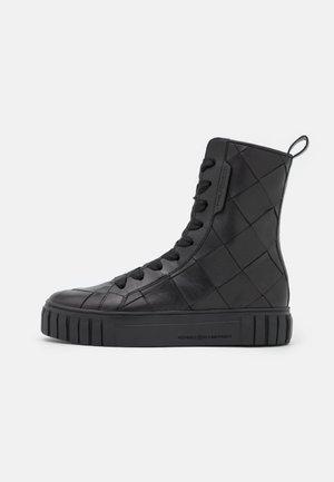 SUN - Lace-up ankle boots - schwarz