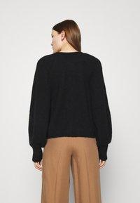 ARKET - SWEATER - Stickad tröja - black - 2