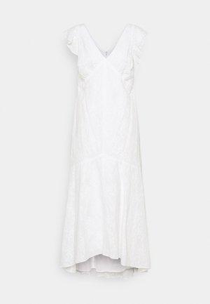 LENORA DAY DRESS - Maxi dress - white