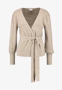 Vila - Cardigan - natural melange - 3