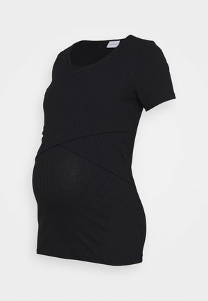 MLISABELLA - T-shirts - black
