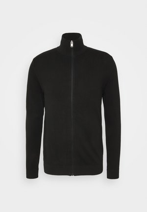 SLHBERG FULL ZIP  - Cardigan - black