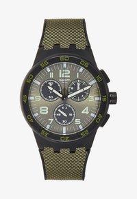 Swatch - DARK FOREST - Cronografo - dark green - 0