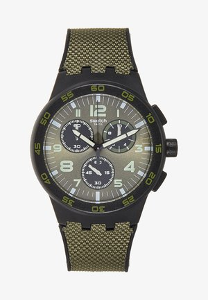 DARK FOREST - Chronograph watch - dark green