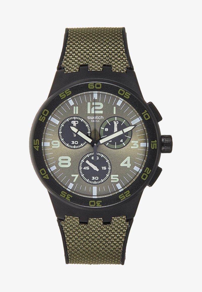 Swatch - DARK FOREST - Cronografo - dark green
